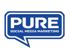 #220 para Logo Design for PURE Social Media Marketing por kxhead