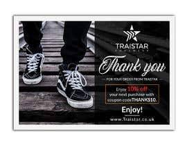 #17 for Design a Thank You Flyer A6 Size by creativesailor