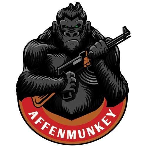 Proposition n°                                        17                                      du concours                                         Design a simple mascot / monkey / caricature