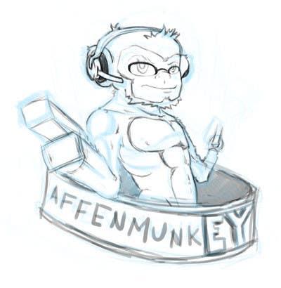 Proposition n°                                        28                                      du concours                                         Design a simple mascot / monkey / caricature