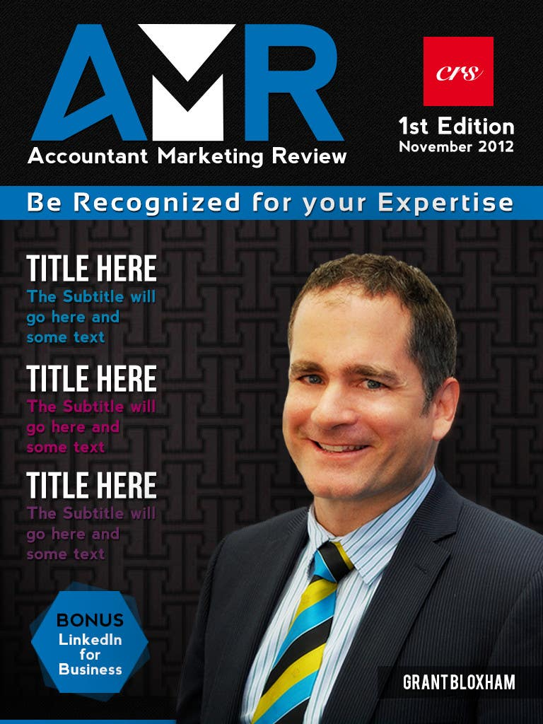 Penyertaan Peraduan #                                        24                                      untuk                                         Graphic Design for Accountant Marketing Review Magazine (Edit existing InDesign template)
