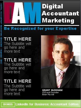 Penyertaan Peraduan #                                        2                                      untuk                                         Graphic Design for Accountant Marketing Review Magazine (Edit existing InDesign template)