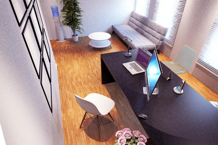 person office layout. Contest Entry #82 For Single Person Office Layout \u0026 3D Render