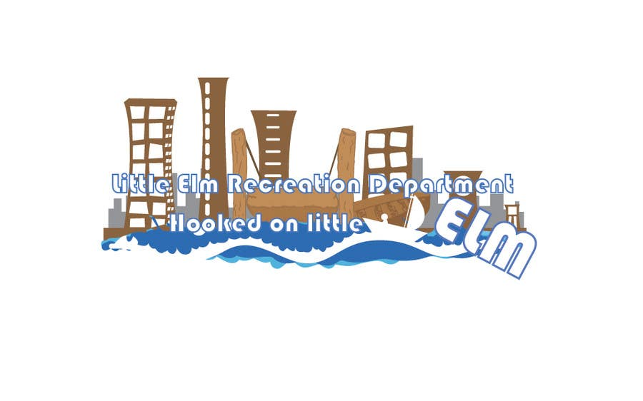 Penyertaan Peraduan #97 untuk Logo Design for Little Elm Recreation Department