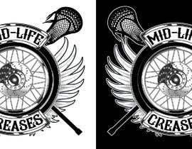 #133 para Motorcycle Gang/Harley Davidson style Logo for men's lacrosse team de Pibbles