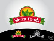 Logo Design for Sierra Foods için Graphic Design157 No.lu Yarışma Girdisi