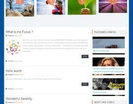 #6 para Looking for the new website of Inspiring Myself por antu2