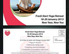 itm2008 tarafından Marketing postcard for Adore Yoga için no 43
