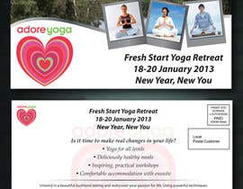 #42 cho Marketing postcard for Adore Yoga bởi itm2008