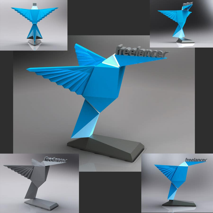 entry 84 by valienu for graphic design for we want a cool 3d model