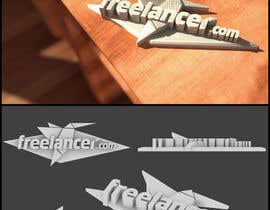 #220 pentru Graphic Design for We want a cool 3D model incorporating the Freelancer logo for our Makerbot! de către AnWFL