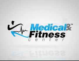 #100 para Logo Design for Medical and Fitness Centre por VoxelDesign