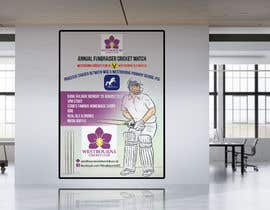 #23 pentru Fundraiser Poster Design for Print - Cricket! de către khblimon