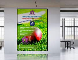 #24 pentru Fundraiser Poster Design for Print - Cricket! de către khblimon