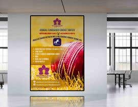 #25 pentru Fundraiser Poster Design for Print - Cricket! de către khblimon