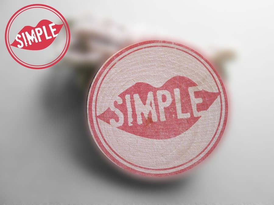 Penyertaan Peraduan #                                        78                                      untuk                                         Design a Stamp like Image for SIMPLE