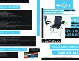 alihelmymahmoud tarafından Design a Flyer to Sell a Medical Chair to Medical Suppliers için no 8
