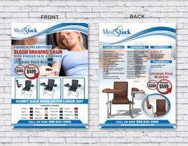 jovanastoj tarafından Design a Flyer to Sell a Medical Chair to Medical Suppliers için no 15