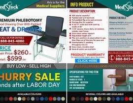 arnodesaingrafis tarafından Design a Flyer to Sell a Medical Chair to Medical Suppliers için no 6