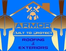 #394 per Logo Design for Armor Roofing & Exteriors da zajib