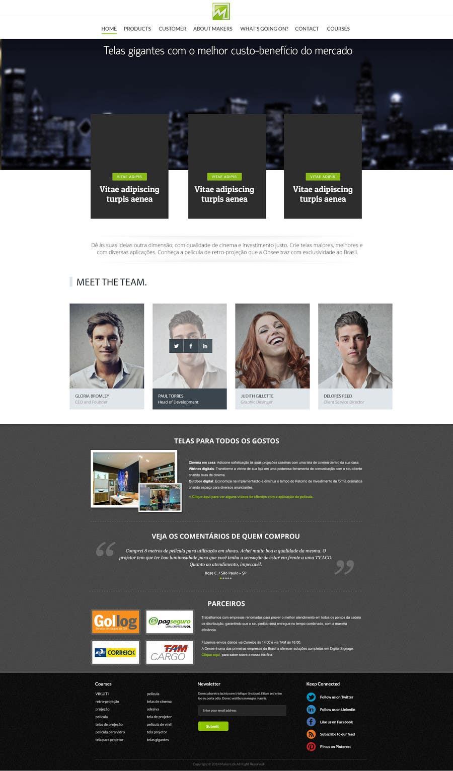 Konkurrenceindlæg #                                        23                                      for                                         Design a Website Mockup for http://makers.dk