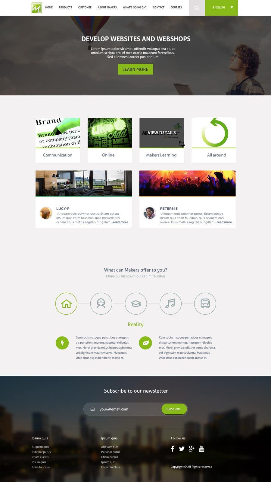Konkurrenceindlæg #                                        16                                      for                                         Design a Website Mockup for http://makers.dk