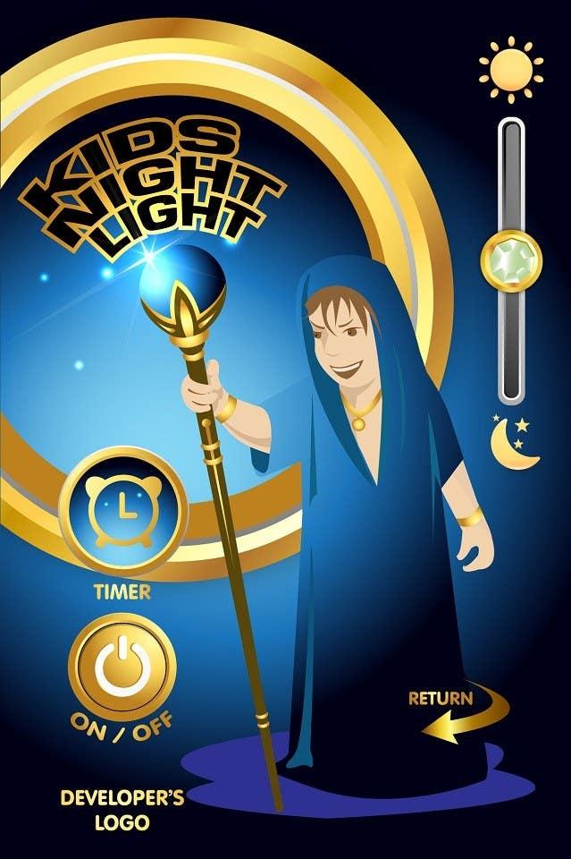 Inscrição nº                                         77                                      do Concurso para                                         Kids Night Light Graphic Design for App