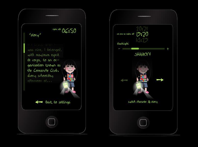 Inscrição nº                                         65                                      do Concurso para                                         Kids Night Light Graphic Design for App
