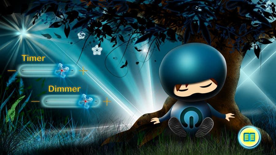 Kilpailutyö #70 kilpailussa Kids Night Light Graphic Design for App
