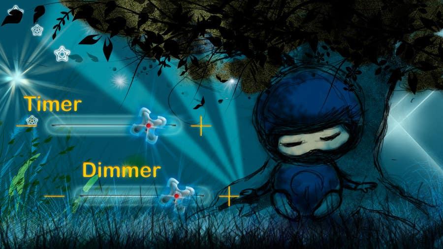 Inscrição nº                                         61                                      do Concurso para                                         Kids Night Light Graphic Design for App
