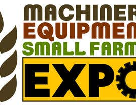 #50 untuk Design a Logo for Machinery, Equipment and Small Farms Expo oleh cbarberiu