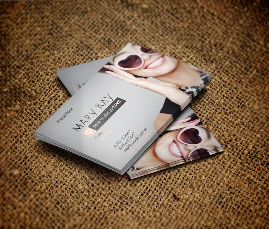 Design some Business Cards for a new Mary Kay business