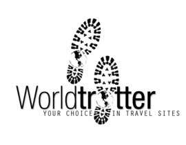 #19 para Logo Design for travel website Worldtrotter.com de chrrrmaine