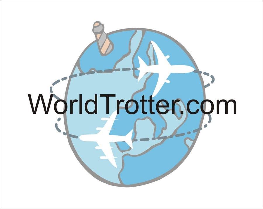 Конкурсная заявка №104 для Logo Design for travel website Worldtrotter.com