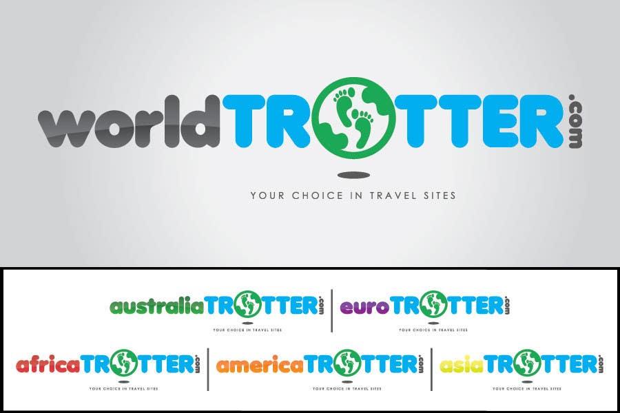 Inscrição nº 220 do Concurso para Logo Design for travel website Worldtrotter.com