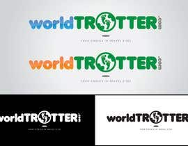 #219 pentru Logo Design for travel website Worldtrotter.com de către tiffont