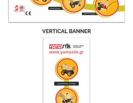 #63 for Design a banner 80X200 cm - Horizontal and Vertical by bdKingSquad