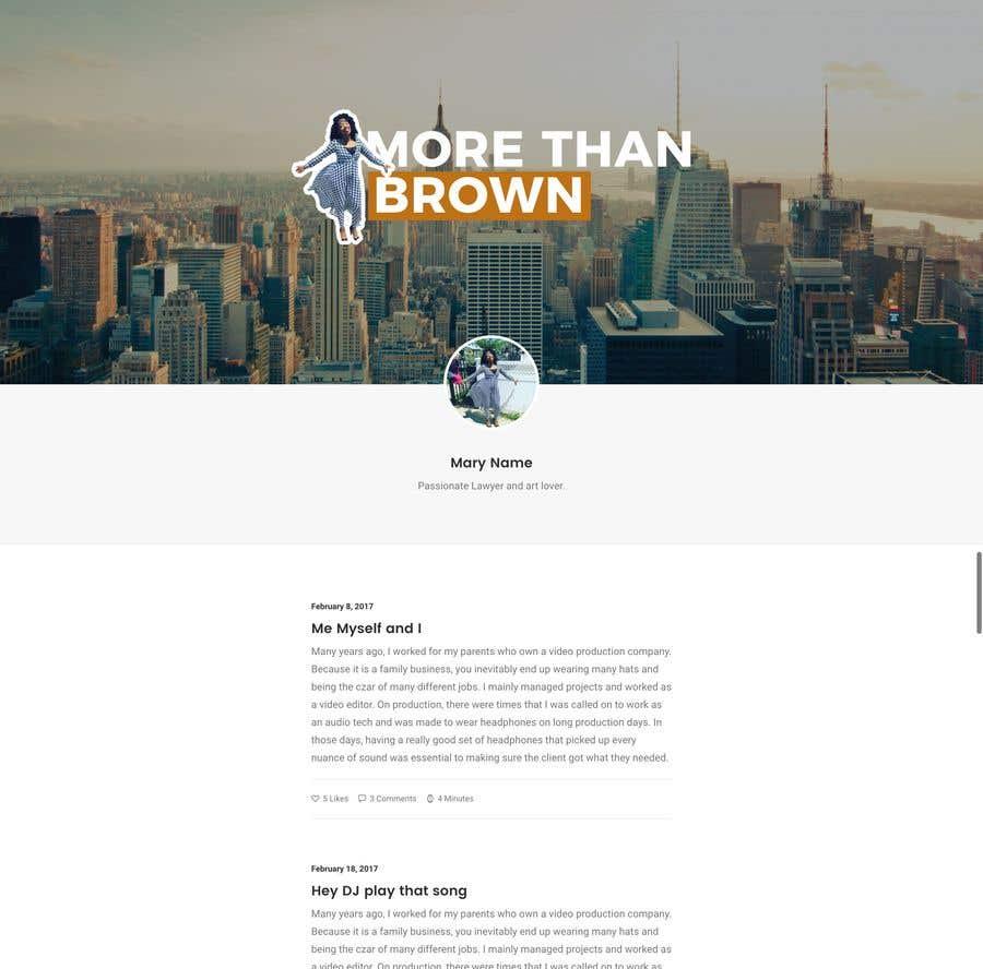 Entry #27 by iJohnPaul for Design a mockup | Freelancer