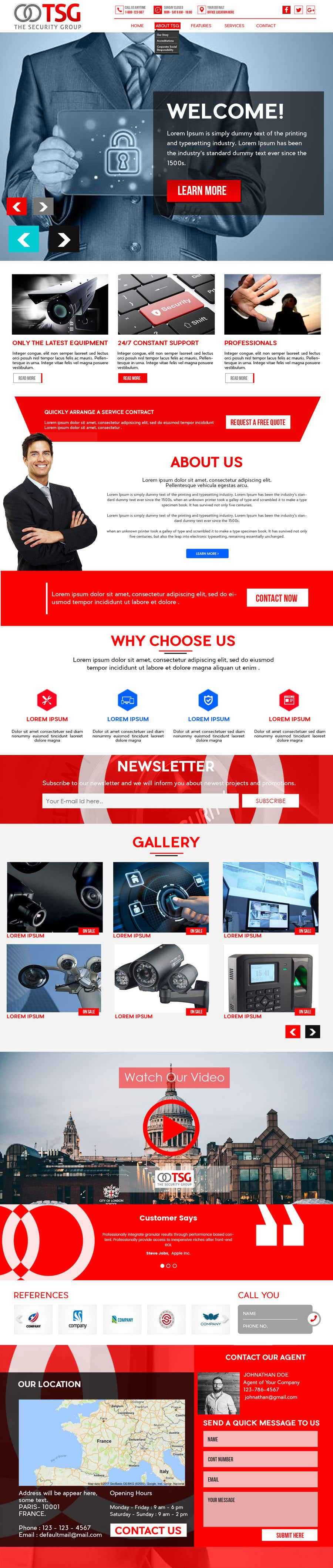 Participación en el concurso Nro.82 para TSG Website Build.