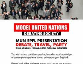 #48 for Design a flyer + banner for a Model United Nations by jamiuolagoke