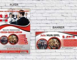 #54 for Design a flyer + banner for a Model United Nations by jovanastoj