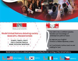 #34 for Design a flyer + banner for a Model United Nations by Manik012