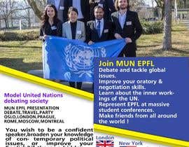 #19 for Design a flyer + banner for a Model United Nations by Jyotirmoypal