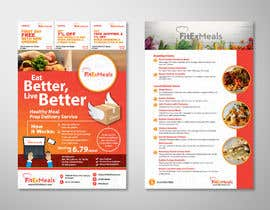 #8 for Design a Flyer for  a Meal Prep Company by elgu