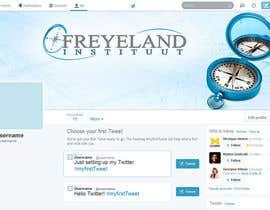 #17 untuk Design a Twitter background for us oleh Banj0