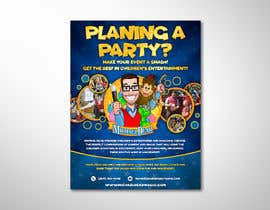 #75 for Stunning Children's Magician Advertisement Flyer Design by elgu