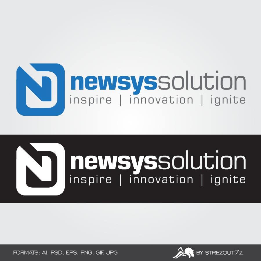 Penyertaan Peraduan #                                        10                                      untuk                                         Design a Logo for Newsys Solution