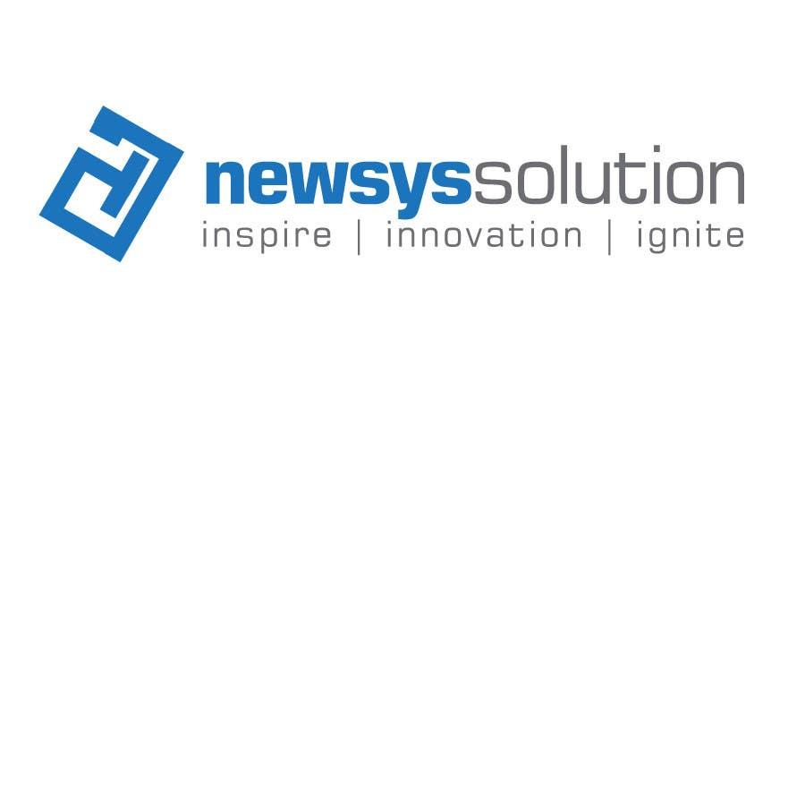 Penyertaan Peraduan #                                        41                                      untuk                                         Design a Logo for Newsys Solution