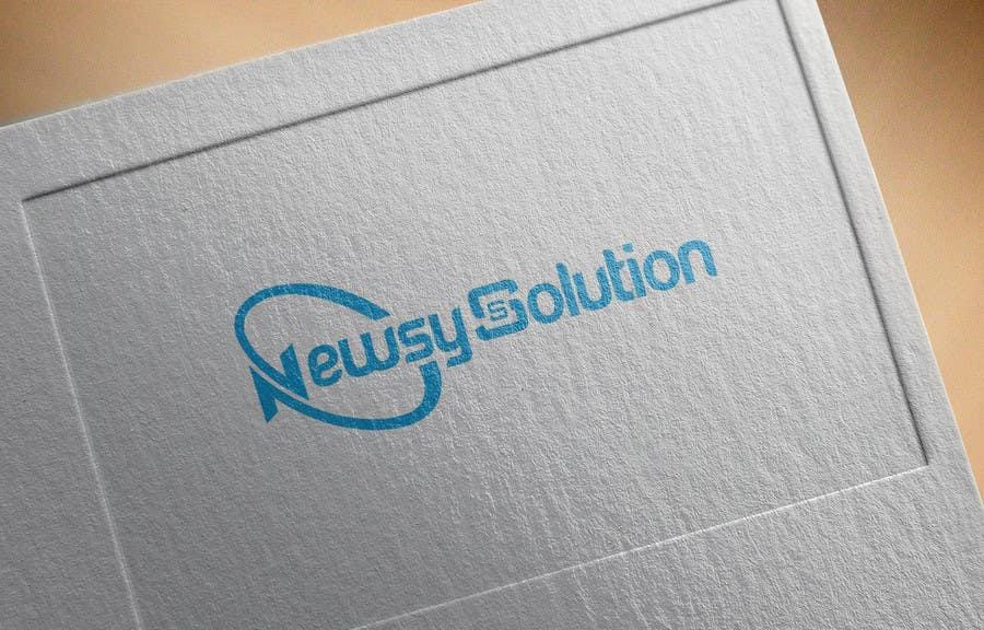 Penyertaan Peraduan #                                        8                                      untuk                                         Design a Logo for Newsys Solution