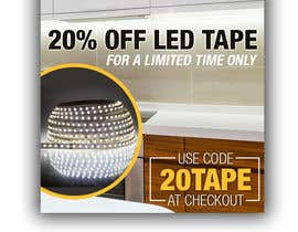 #8 for Design an LED Tape Banner for Email by DenisLucian